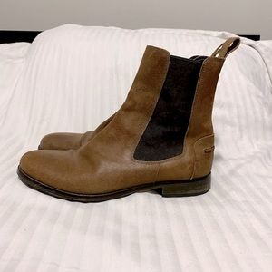 Harry's of London Jason Chelsea Waxed Suede Boots